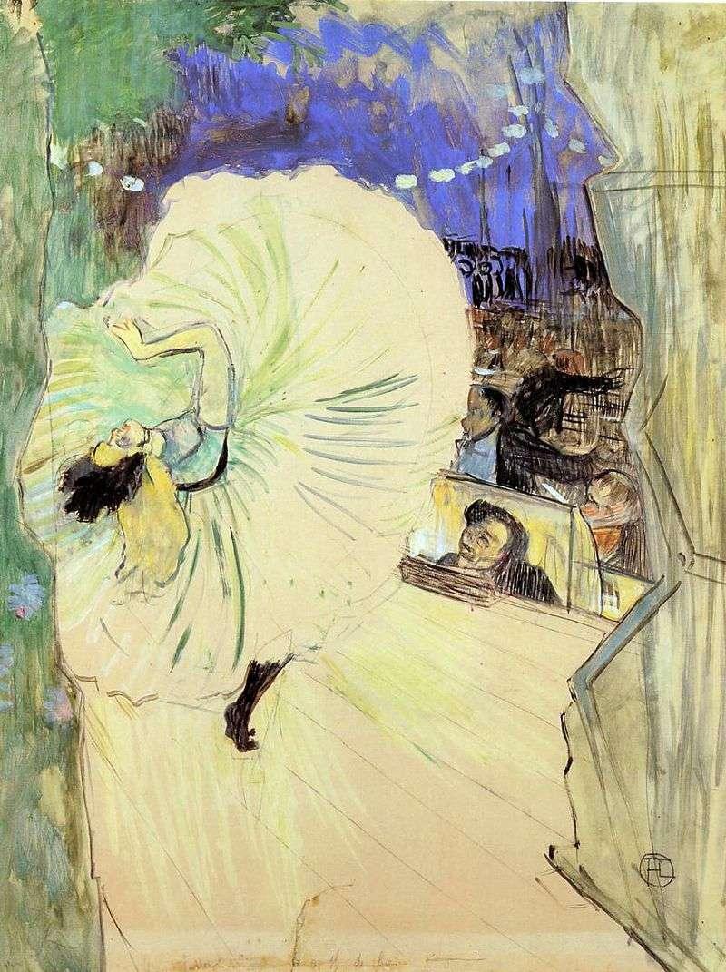 Tancerz (Koło)   Henri de Toulouse Lautrec