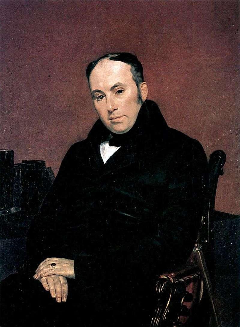 Portret V. A. Zhukovsky   Karl Bryullov