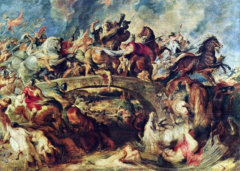 Bitwa o Greków z Amazonkami   Peter Rubens