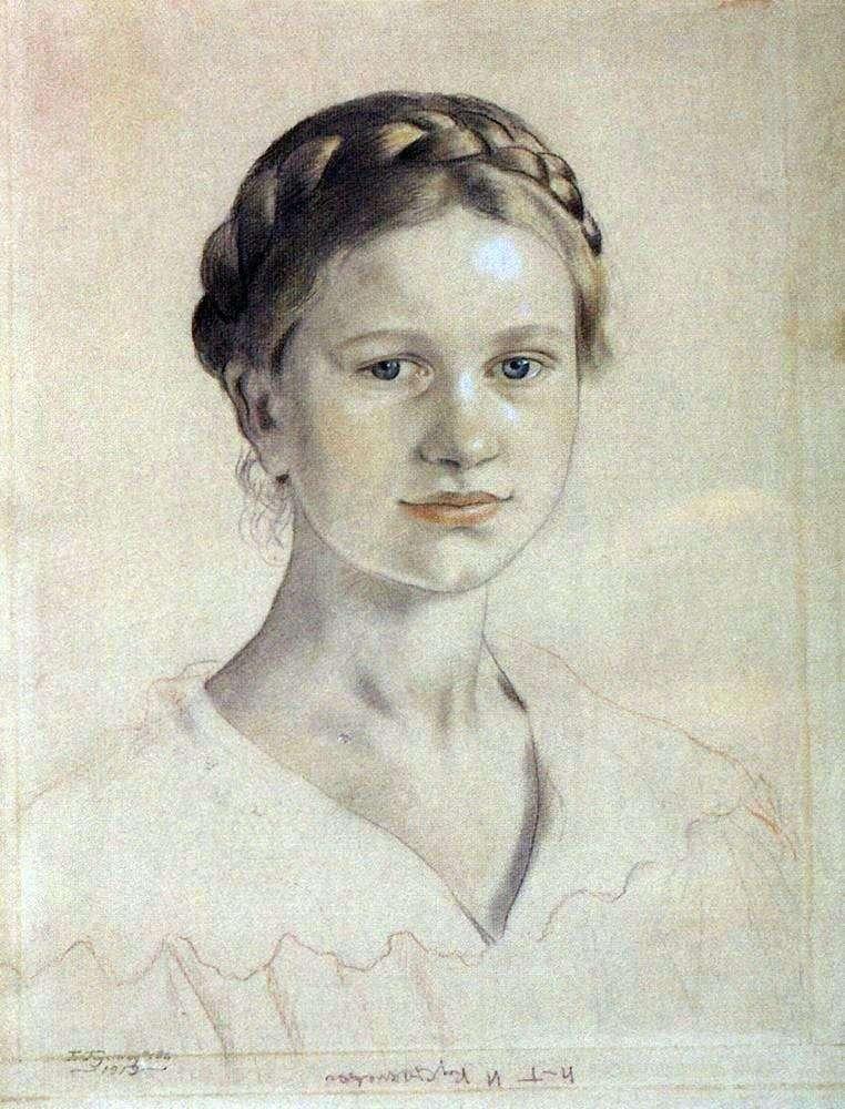Portret I. B. Kustodiyeva   Boris Kustodiev
