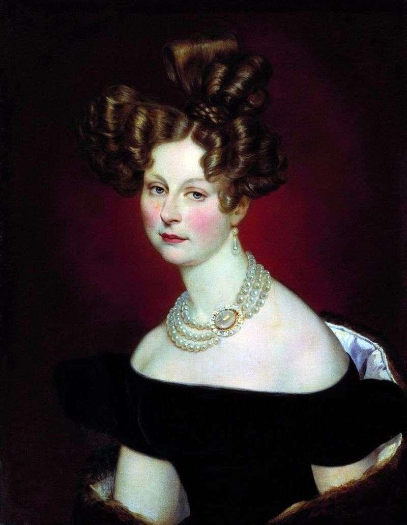 Portret Vel. Prince Elena Pavlovna   Karl Bryullov