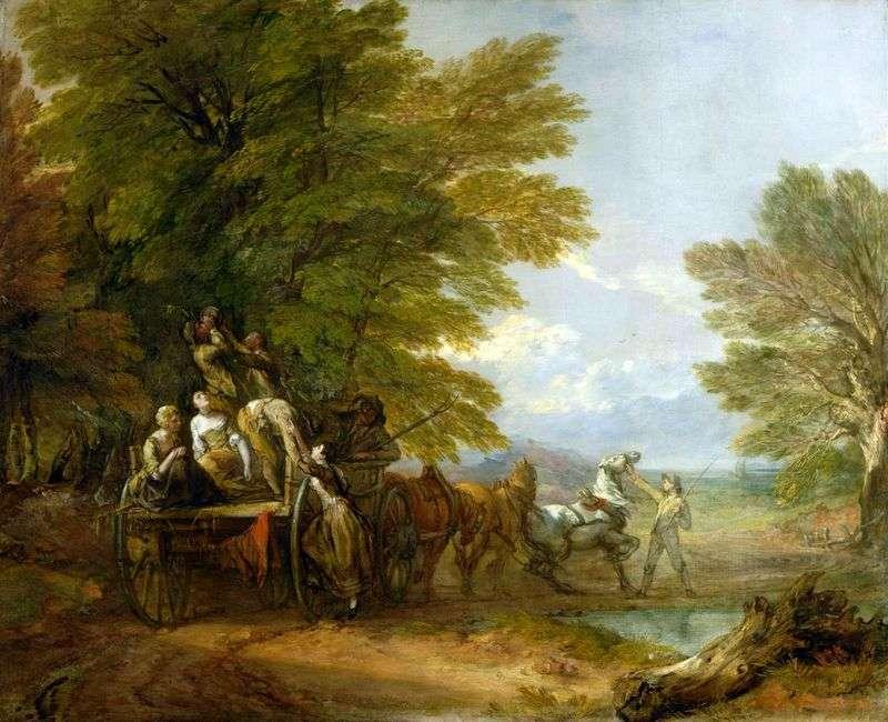 Koszyk żniwny   Thomas Gainsborough
