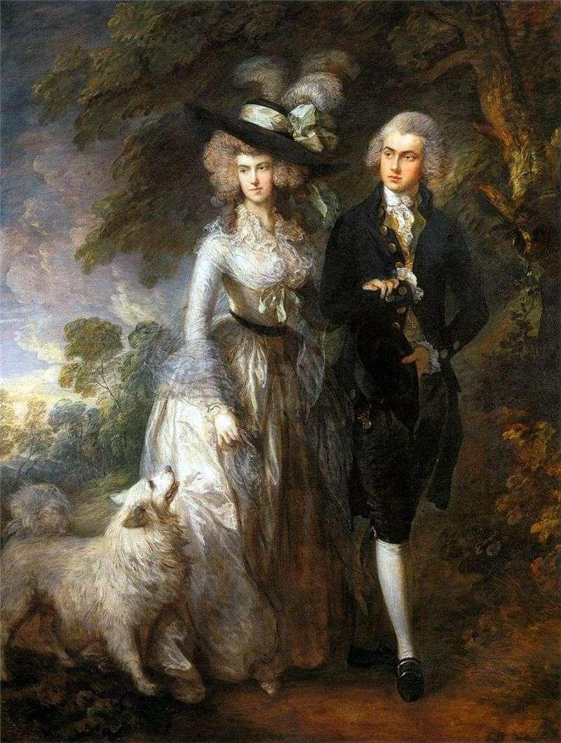 Poranny spacer   Thomas Gainsborough