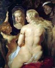 Wenus w lustrze   Peter Rubens