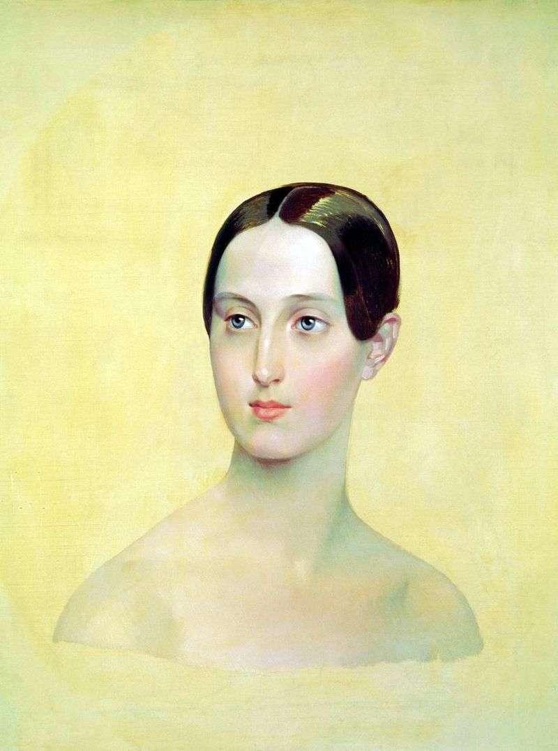 Portret Wielkiej Księżnej Marii Nikołajewnej   Karola Bryulłowa