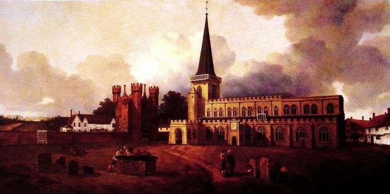 Kościół Mariacki   Thomas Gainsborough