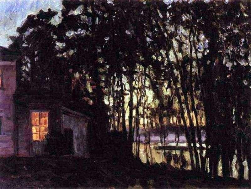 Lipcowa noc   Stanisław Żukowski