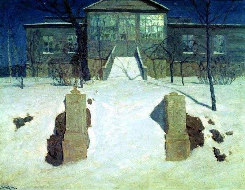 Księżycowa noc   Stanisław Żukowski