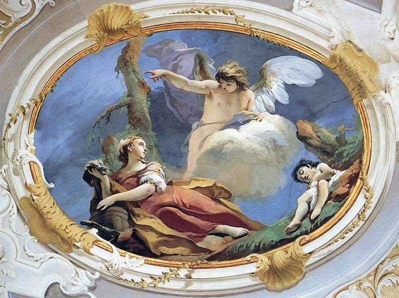 Hagar na pustyni   Giovanni Battista Tiepolo