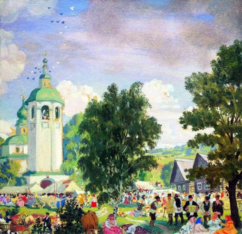 Wakacje na wsi   Boris Kustodiew