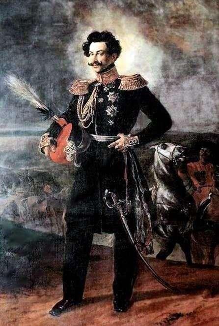 Portret hrabiego A. A. Perovskyego   Karl Bryullov