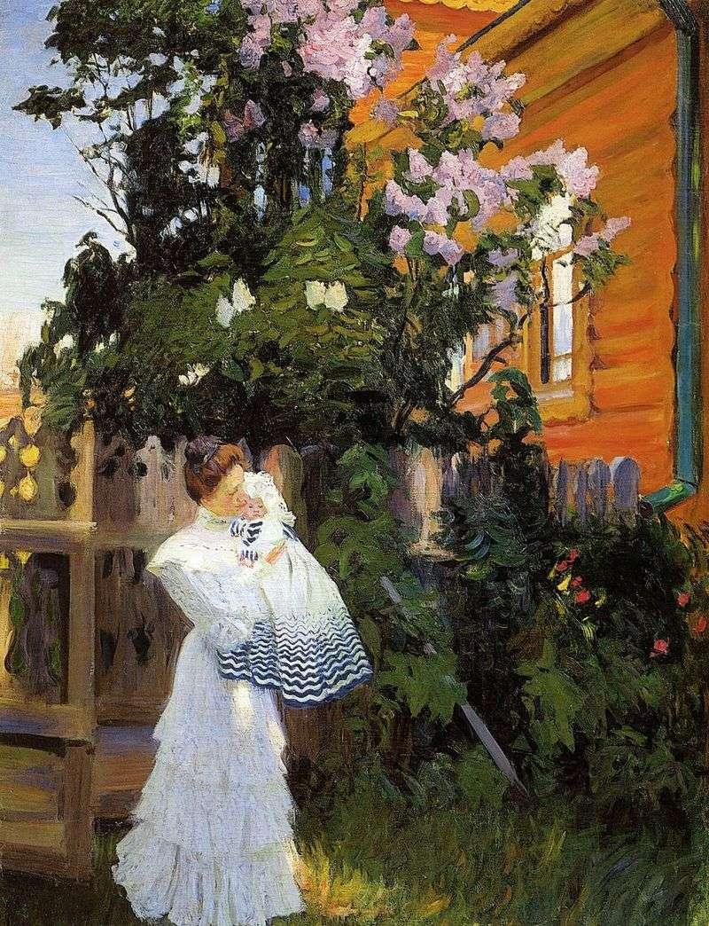 Lilac   Boris Kustodiev