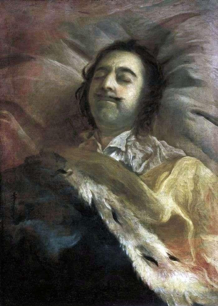 Piotra I na łożu śmierci   Iwan Nikitin