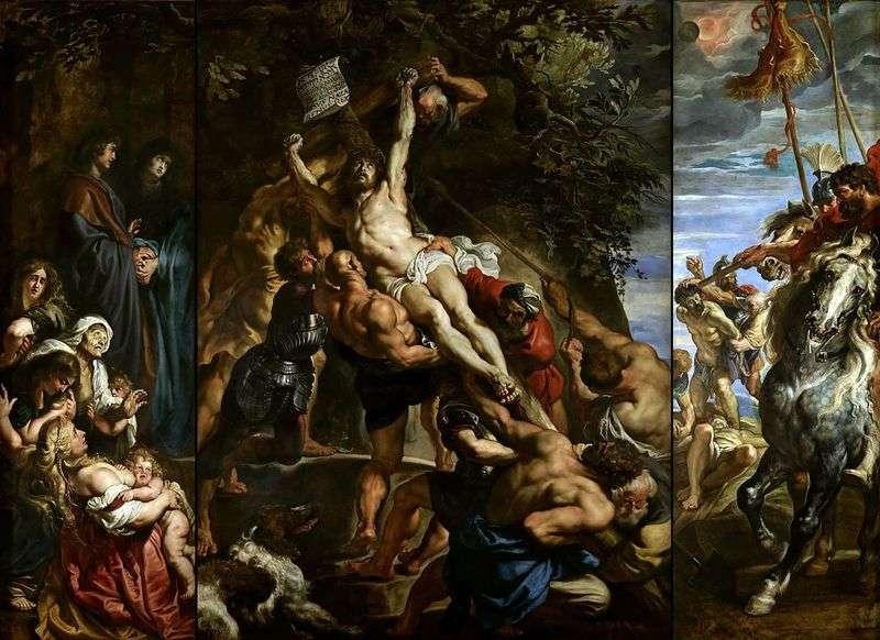 Podwyższenie Krzyża   Peter Rubens