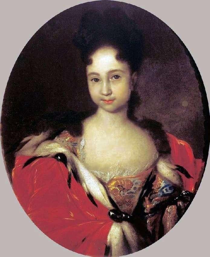 Portret Anny Pietrowna, córki Piotra 1   Iwana Nikitina