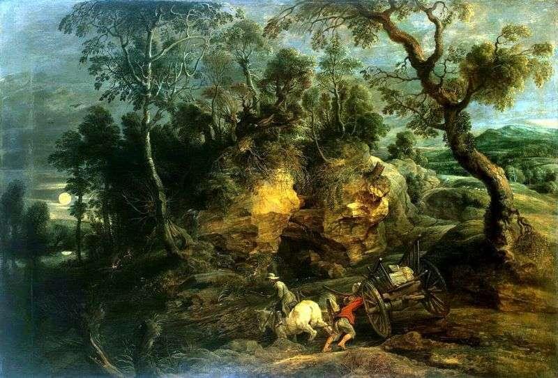 Łupacze kamieni   Peter Rubens