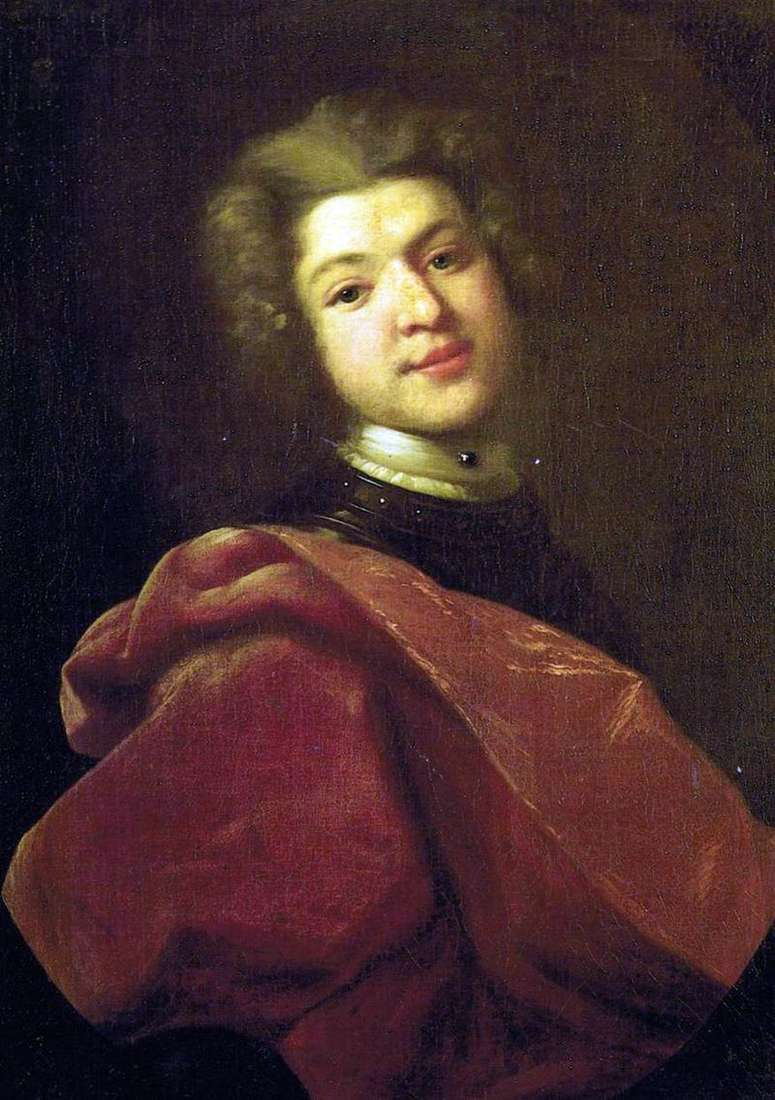 Portret barona Siergieja Grigoriewicza Stroganowa   Iwana Nikitina