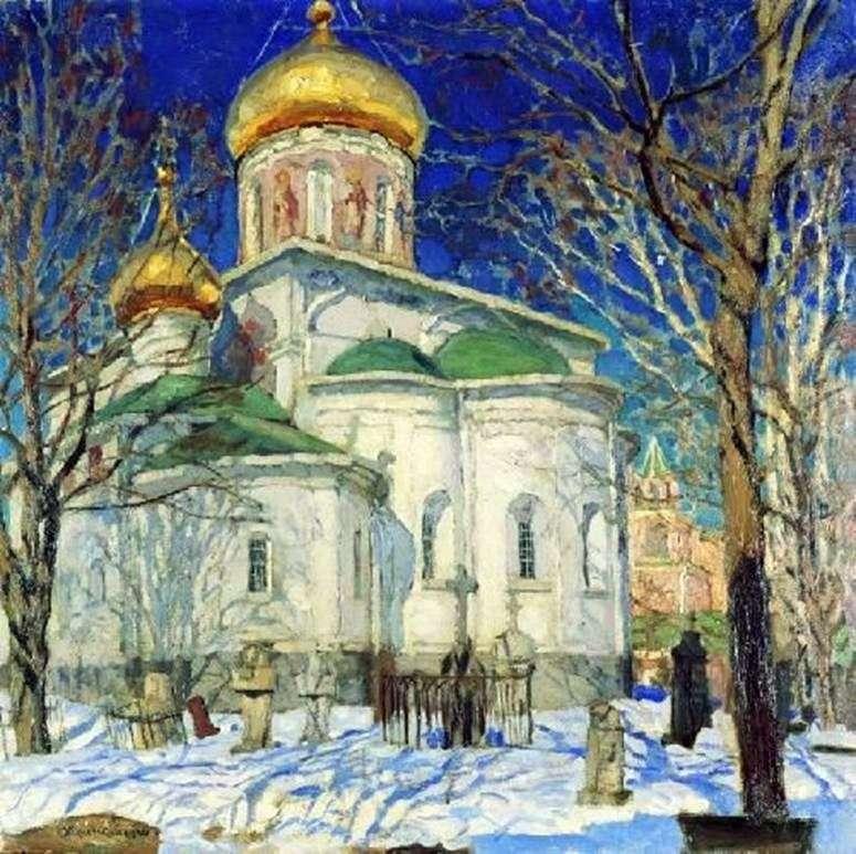 Kościół Narodzenia Najświętszej Marii Panny. Zvenigorod   Stanislav Zhukovsky