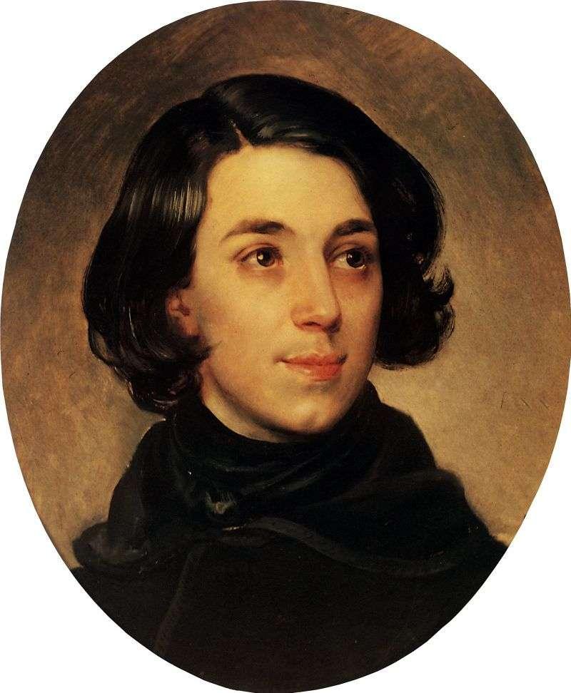 Portret I. A. Monighetti   Karl Bryullov