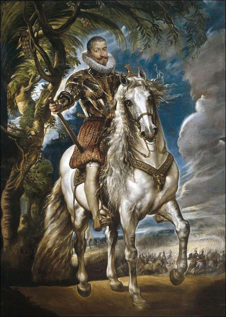 Portret księcia Lermy   Petera Rubensa
