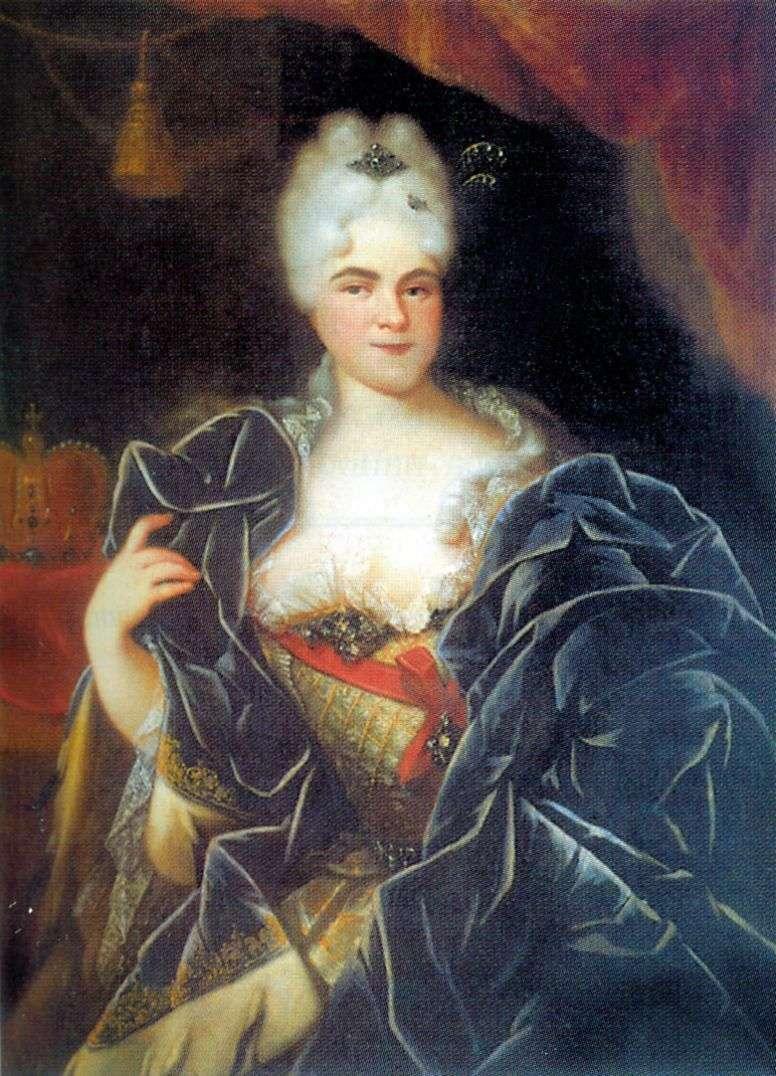 Portret cesarzowej Katarzyny I   Iwan Nikitin