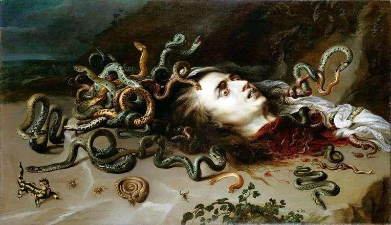 Szef Gorgon Medusa   Peter Rubens