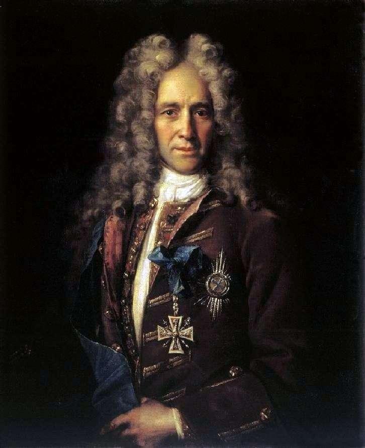 Portret kanclerza GI Golovkina   Iwana Nikitina