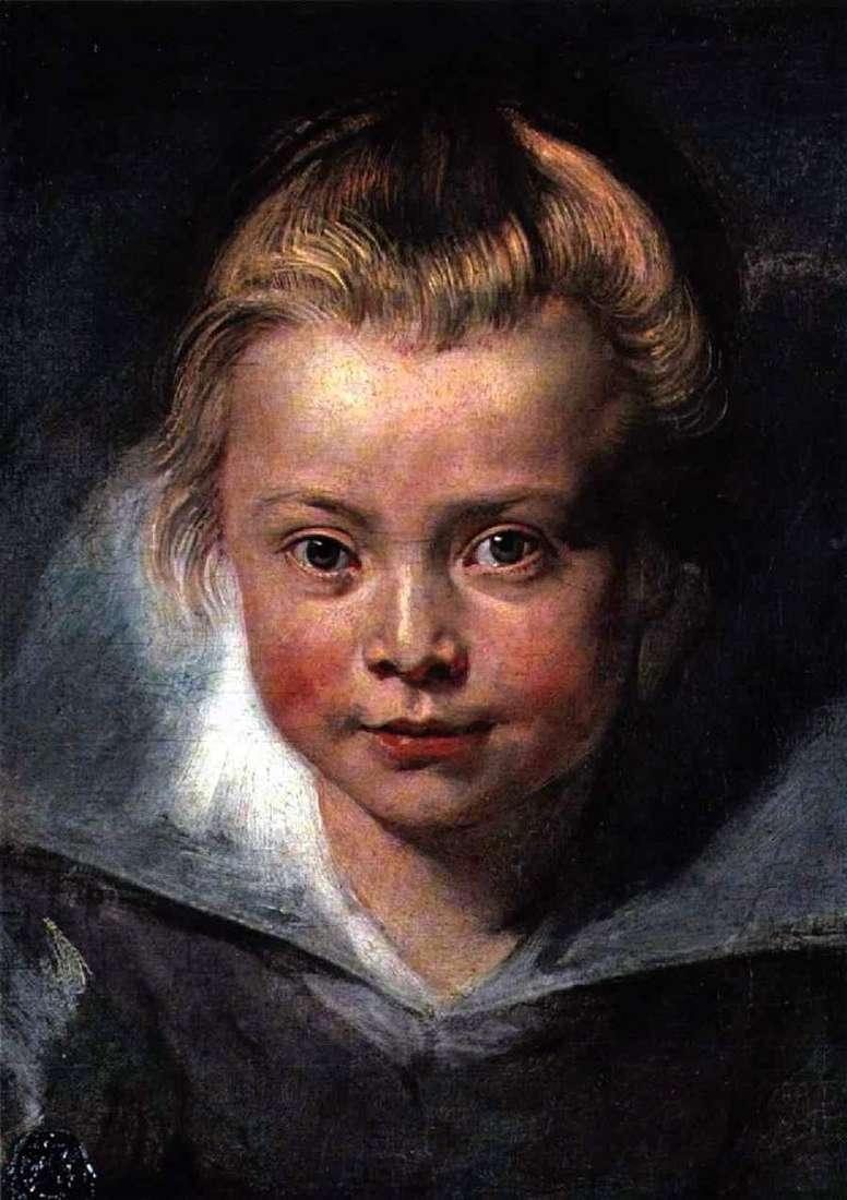 Głowa dziecka   Peter Rubens