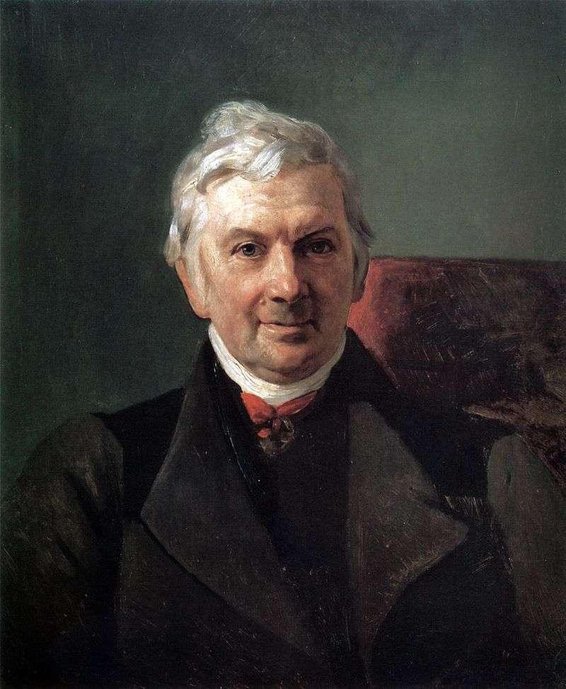 Portret K. A. Janisch   Karl Bryullov
