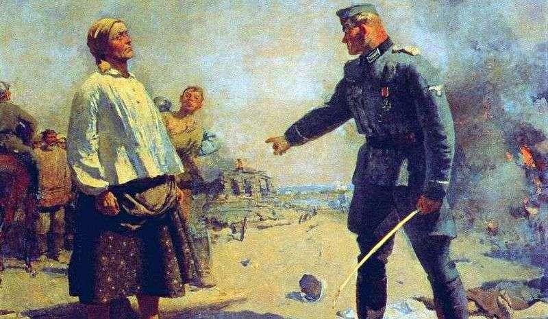 Matka partyzanta   Siergiej Gierasimow