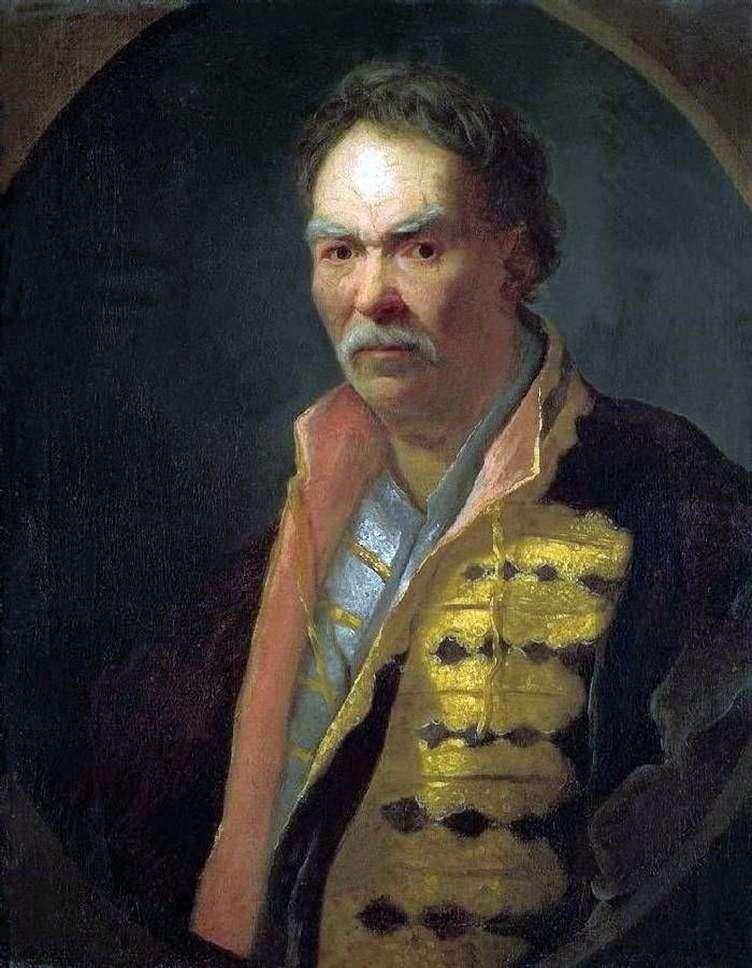 Portret hetmana na podłodze   Iwan Nikitin