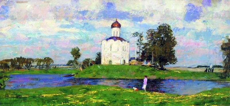 Kościół wstawiennictwa nad Nerl   Siergiej Gierasimow