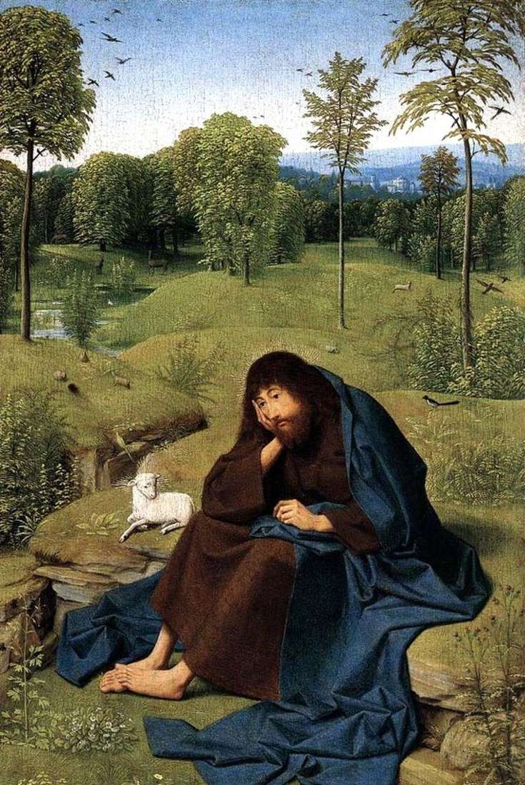 Św. Jan Chrzciciel na pustyni   Yans Sint, Hertgen