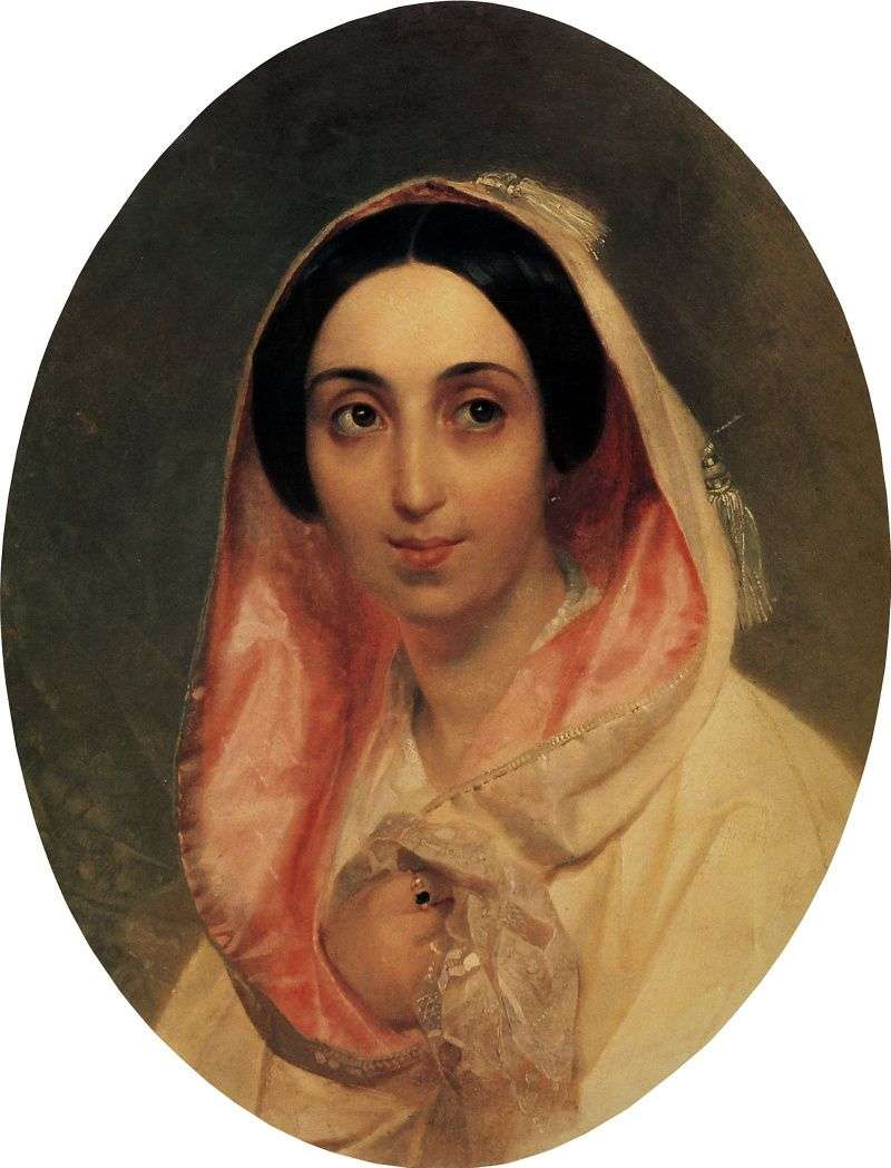 Portret księżnej A. A. Bagration   Karl Bryullov