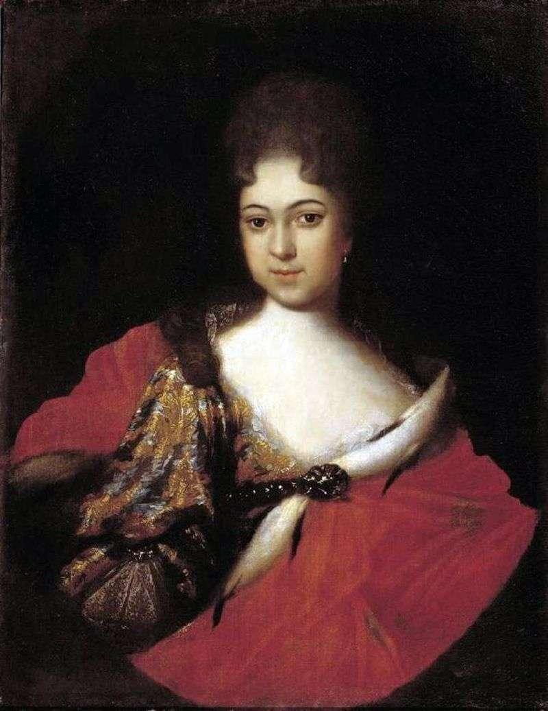 Portret księżniczki Praskowji Ioannowny   Iwana Nikitina