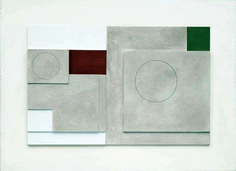 Malowana płaskorzeźba   Ben Nicholson