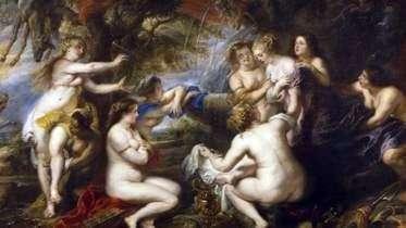 Diana i Callisto   Peter Rubens