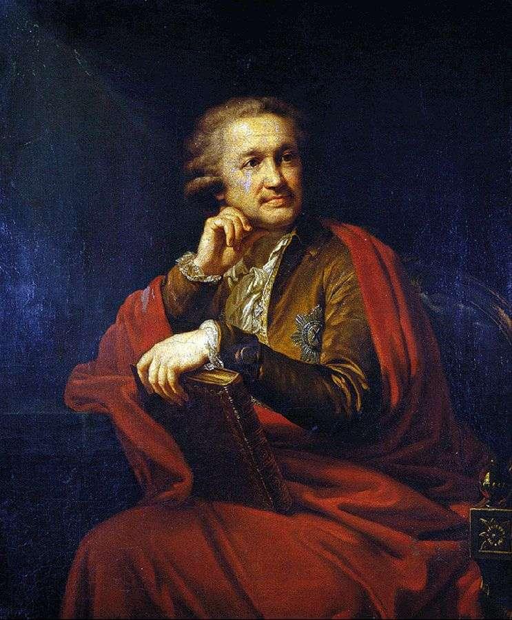 Portret A. Stroganowa   Johann Baptist Lampi