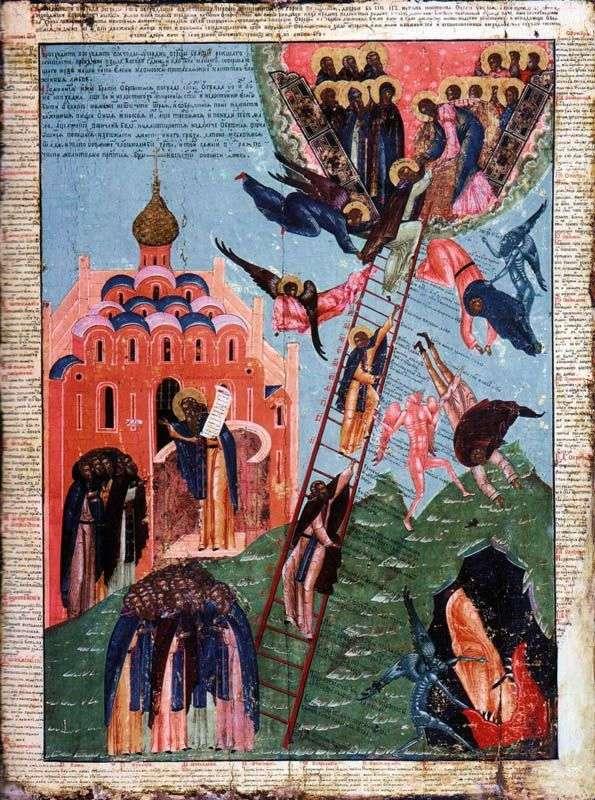 Św. Jana z Drabiny i obraz wznoszenia się w klasztorze