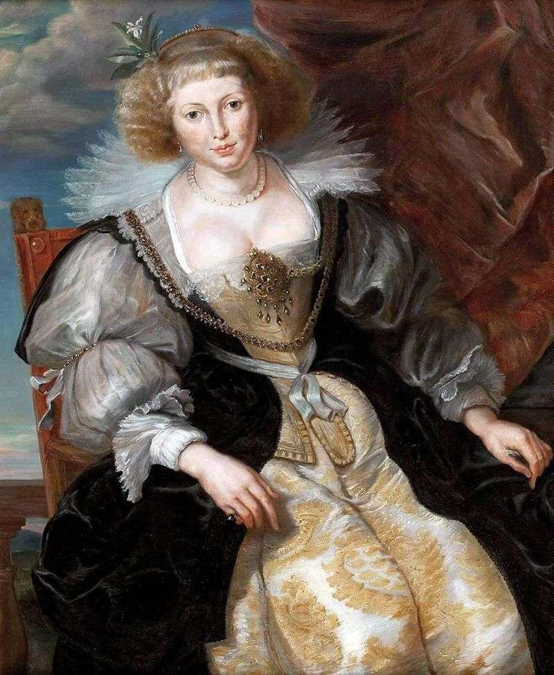 Czwórka Elena w sukni ślubnej   Peter Rubens
