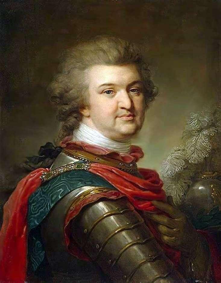 Portret G. A. Potemkina Tavrichesky   Johann Baptist Lampi