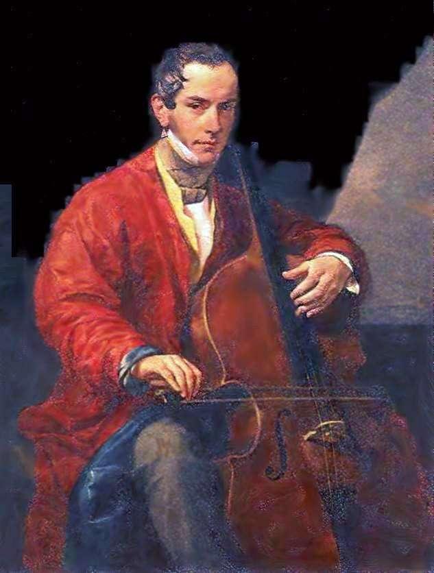 Portret M. Yu. Vielgorsky   Karl Bryullov