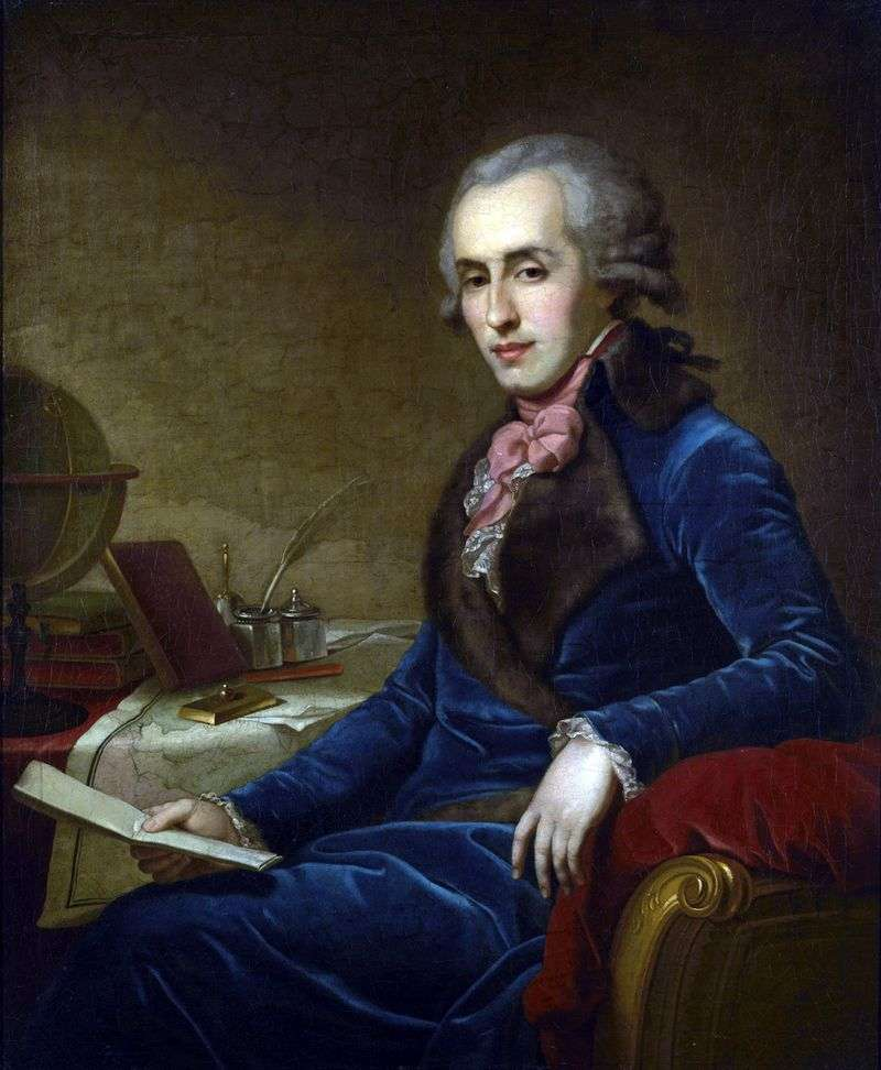 Portret Zubova P. A   Johan Baptist Lampi