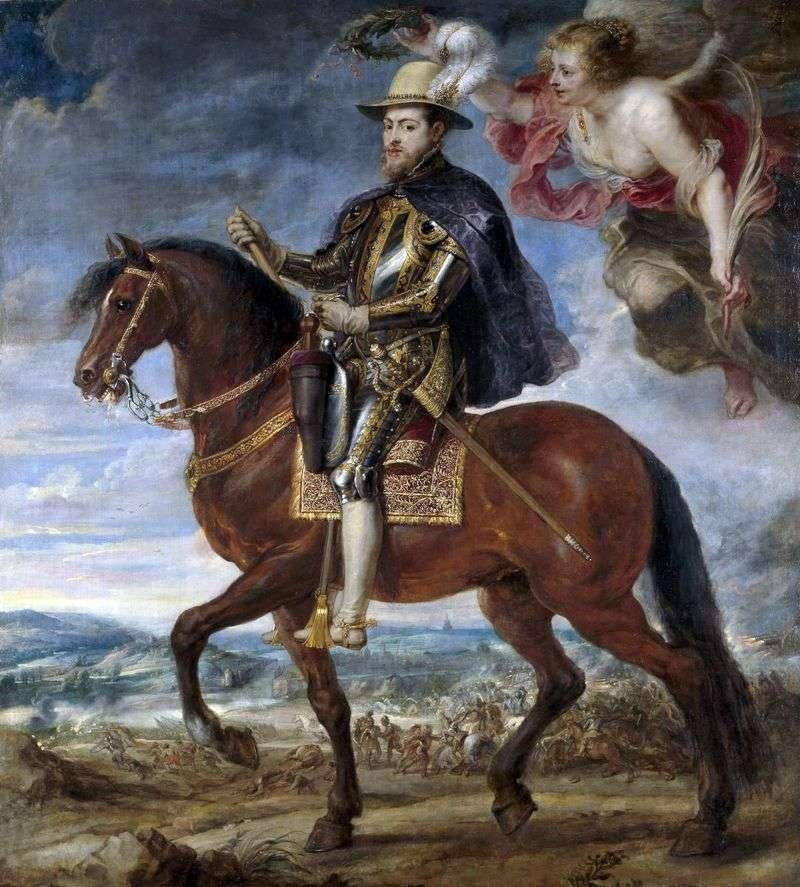 Konny Portret Filipa II   Petera Rubensa
