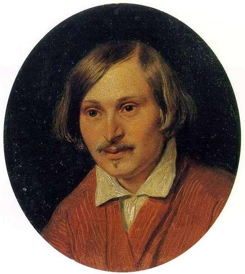 Portret N. V. Gogola   Aleksander Iwanow