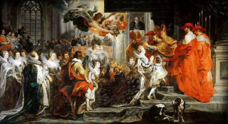 Koronacja Marii de Medici   Peter Rubens