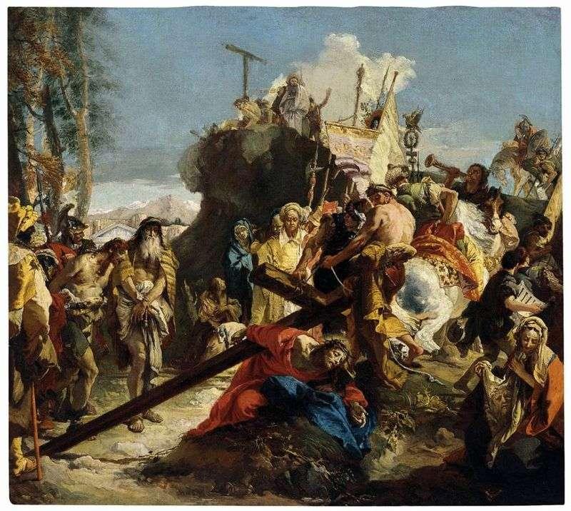 Droga do Kalwarii   Giovanni Battista Tiepolo