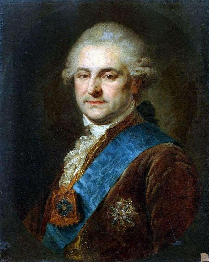 Portret Stanisława   Augusta Poniatowskiego   Johann Baptist Lampi