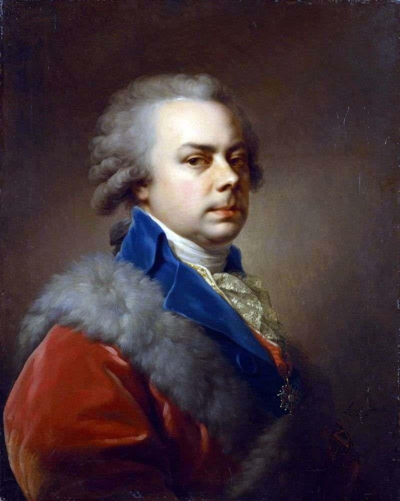 Portret Jusupowa N. B   Johann Baptist Lampi