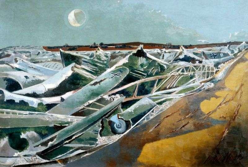 Morze Martwe   Paul Nash